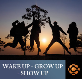WakeUp GrowUp ShowUp Course Image